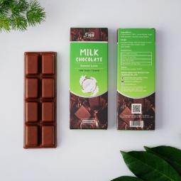[ ĂN LÀ NGHIỆN] Socola sữa nhân Dừa 50% cacao FIGO 20g