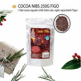 Hạt ca cao ngòi nguyên chất ăn giảm cân- Cocoa Nibs 250g