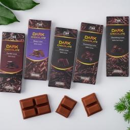 Kẹo Sô cô la đen 90% cacao ít đường 20g FIGO