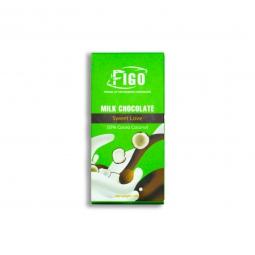 Kẹo Socola sữa nhân Dừa dòng Sweet Love 50g Figo -Socola ngon nhất Việt Nam
