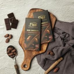 [ TRỢ GIÁ DÙNG THỬ ] Kẹo Socola đen thanh 100% cacao có đường ăn kiêng, giảm cân 50gram Figo - Dành cho khách hàng có chế độ keto